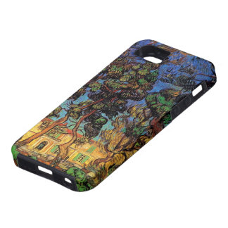 Van Gogh Trees in the Garden, Saint Paul Hospital iPhone 5 Covers
