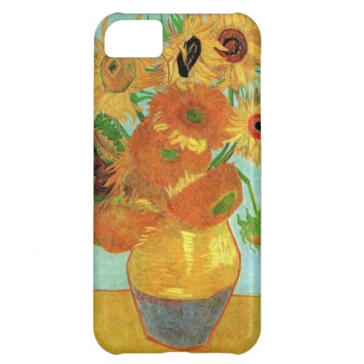 Van Gogh Twelve Sunflowers Case For iPhone 5C