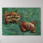 Van Gogh Two Crabs (F606) Fine Art