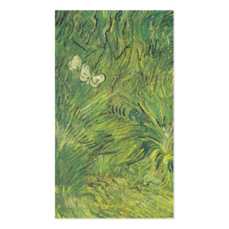 Van Gogh | Two White Butterflies Pack Of Standard Business Cards