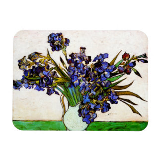 Van Gogh Vase of Irises Magnet