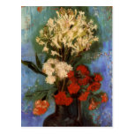 Van Gogh; Vase with Carnations and Other Flowers Post Cards