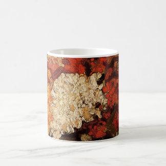 Van Gogh Vase with Carnations, Vintage Fine Art Coffee Mug