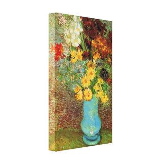 Van Gogh - Vase with Daisies and Anemones Canvas Prints
