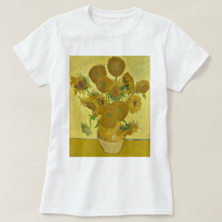 Van Gogh Vase with Fifteen Sunflowers GalleryHD T-Shirt
