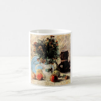 Van Gogh; Vase with Flowers, Coffeepot and Fruit Coffee Mug