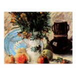 Van Gogh; Vase with Flowers, Coffeepot and Fruit Post Cards