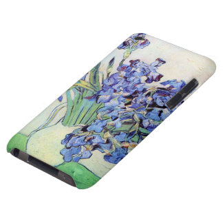 Van Gogh Vase with Irises, Vintage Floral Fine Art Barely There iPod Cases