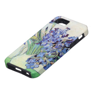 Van Gogh Vase with Irises, Vintage Floral Fine Art iPhone 5 Cover