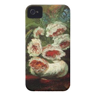 Van Gogh Vase with Peonies, Vintage Fine Art iPhone 4 Case-Mate Case