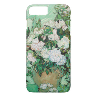 Van Gogh Vase with Pink Roses Floral Painting iPhone 8 Plus/7 Plus Case