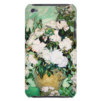 Van Gogh Vase with Pink Roses iPod Touch Case