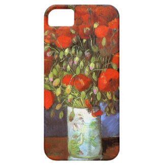 Van Gogh: Vase with Red Poppies iPhone 5 Cover