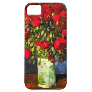 Van Gogh Vase With Red Poppies iPhone Case iPhone 5 Covers
