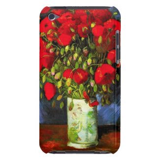 Van Gogh Vase With Red Poppies iPod Case iPod Case-Mate Case