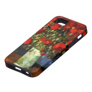 Van Gogh Vase with Red Poppies, Vintage Fine Art Tough iPhone 5 Case