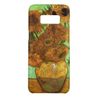 Van Gogh Vase with Sunflowers, Floral Fine Art Case-Mate Samsung Galaxy S8 Case