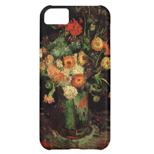 Van Gogh Vase With Zinnias And Geraniums iPhone 5C Cases