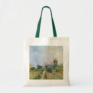 Van Gogh Vegetable Garden in Montmartre, Fine Art