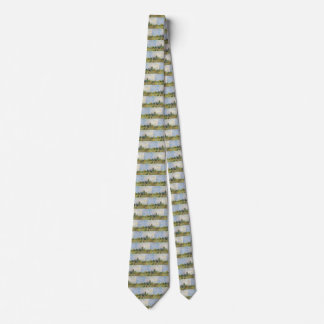Van Gogh Vegetable Garden in Montmartre, Fine Art Tie