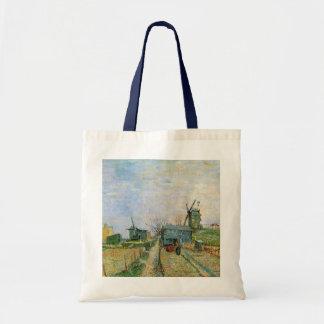 Van Gogh Vegetable Garden in Montmartre Tote Bag