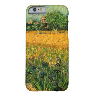 Van Gogh View of Arles w Irises, Vintage Fine Art Barely There iPhone 6 Case
