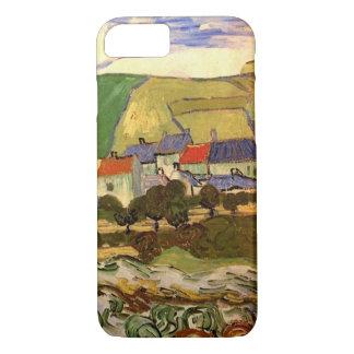 Van Gogh View of Auvers, Vintage Cottage Fine Art iPhone 7 Case