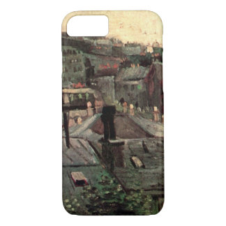 Van Gogh View of Roofs and Backs of Houses iPhone 7 Case