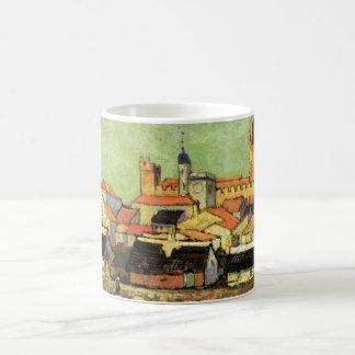 Van Gogh View of Saintes Maries, Vintage Fine Art Coffee Mug