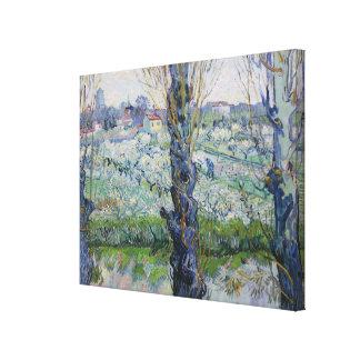 Van Gogh Views of Arles  Flowering Orchards Canvas Print