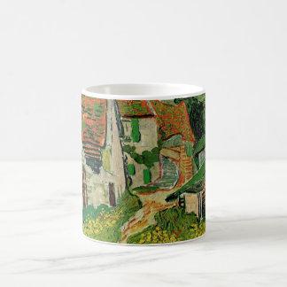 Van Gogh Village Street, Vintage Fine Art Coffee Mug