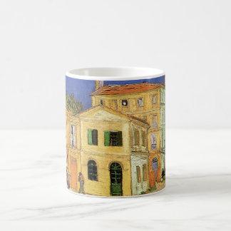 Van Gogh Vincent's House in Arles, Fine Art Basic White Mug