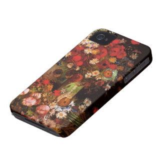 Van Gogh Vintage Flowers in Vase Floral Still Life iPhone 4 Case