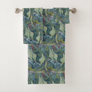 Van Gogh Vintage Great Peacock Moth Bath Towel Set