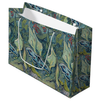 Van Gogh Vintage Great Peacock Moth Large Gift Bag