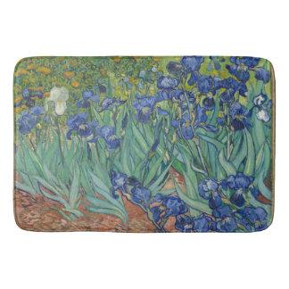 Van Gogh Vintage Irises Bath Mat