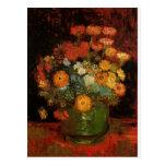 Van Gogh Vintage Painting Vase Flowers Blossoms