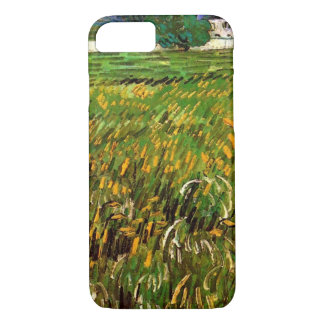 Van Gogh Wheat Field at Auvers with White House iPhone 7 Case