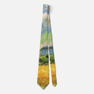 Van Gogh Wheat Field w Cypresses at Haute Galline Tie