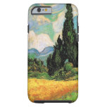 Van Gogh Wheat Field w Cypresses at Haute Galline Tough iPhone 6 Case