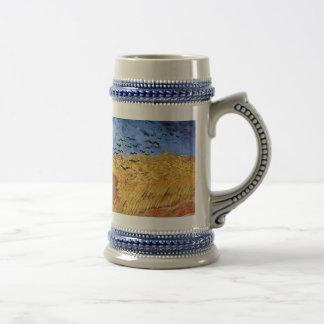 Van Gogh - Wheat Field with Black Crows Mug