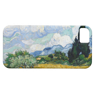 Van Gogh Wheat Field with Cypresses iPhone 5 Covers