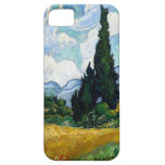 Van Gogh Wheat Field with Cypresses iPhone 5 Cases