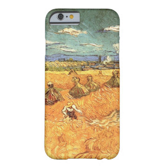 Van Gogh Wheat Stacks with Reaper Vintage Fine Art Barely There iPhone 6 Case