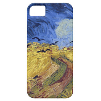 Van Gogh  Wheatfield with Crows iPhone 5 Cases