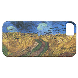 Van Gogh Wheatfield With Crows iPhone case