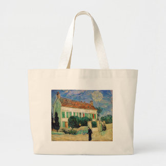 Van Gogh White house night Tote Bag