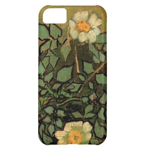 Van Gogh Wild Roses Case For iPhone 5C