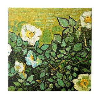 Van Gogh - Wild Roses Tile