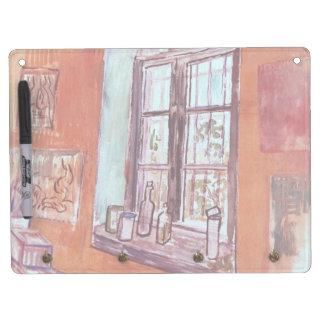 Van Gogh Window of Vincent's Studio at the Asylum Dry Erase Board